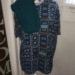 LuLaRoe Matching Irma and leggings